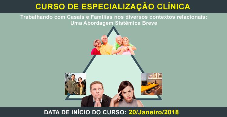CURSO DE ESPECIALIZAÇÃO CLÍNICA-2018